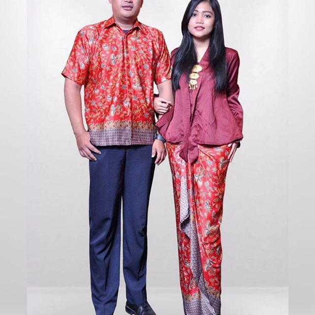 Model Kebaya Kutu Baru Couple Pasangan Pesta Modern