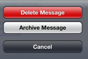 Tombol Delete iPhone
