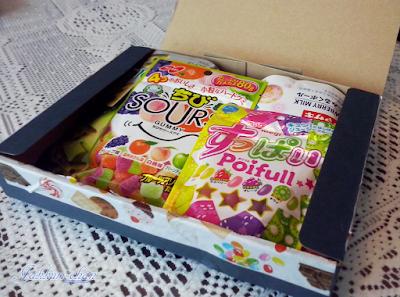 Candy Japan - paczka