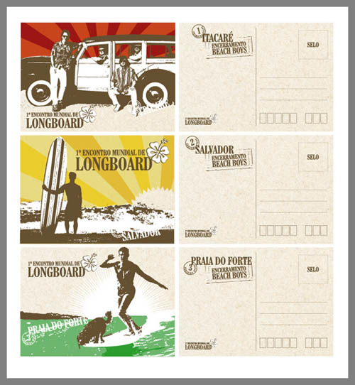 Postcard Designs For Inspiration Mow Design Graphic Design Blog