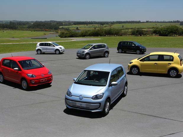 Volkswagen up! - linha completa