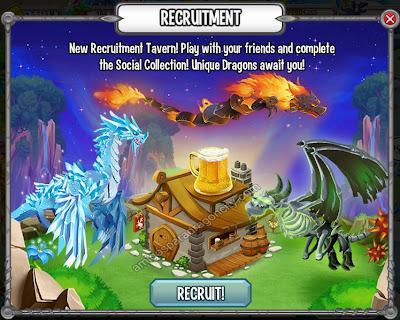 imagen de la actualizacion de la taverna de reclutamiento
