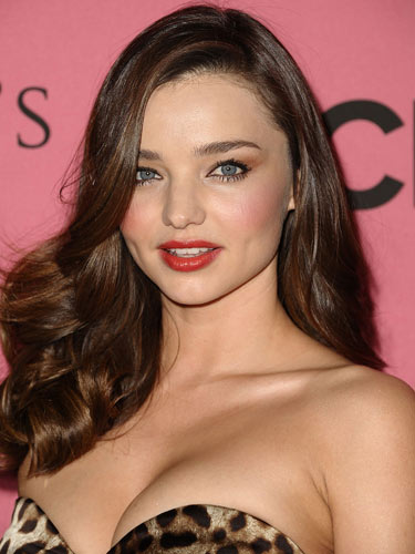 Miranda Kerr Hairstyles for Christmas