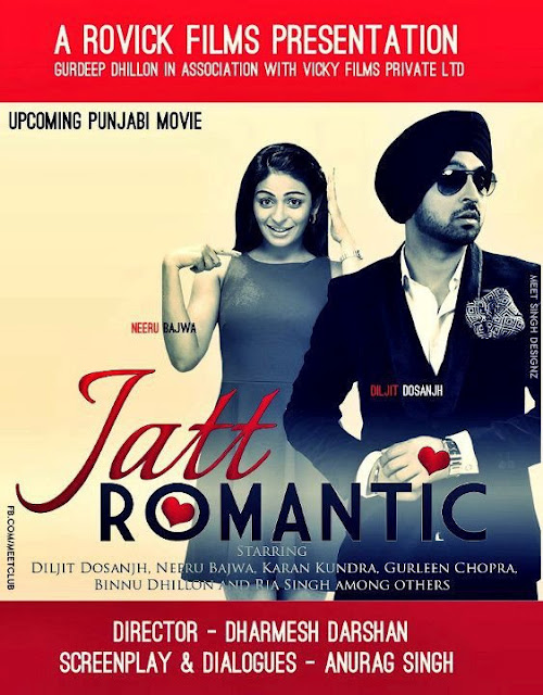 Diljit Dosanjh - Jatt Romantic - New Punjabi Movie 2012