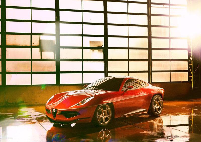 Alfa Romeo Disco Volante Touring Concept 2012