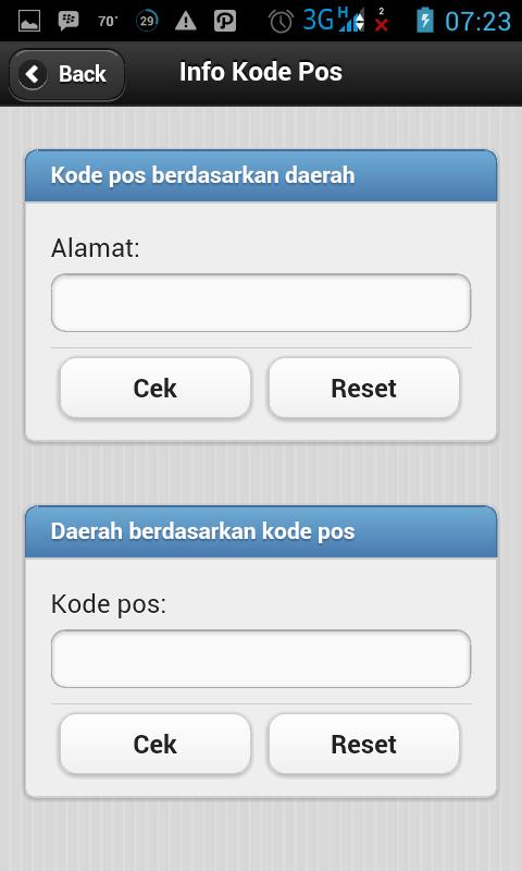 Melacak Kiriman Barang PT. Pos Indonesia Dengan Android 4
