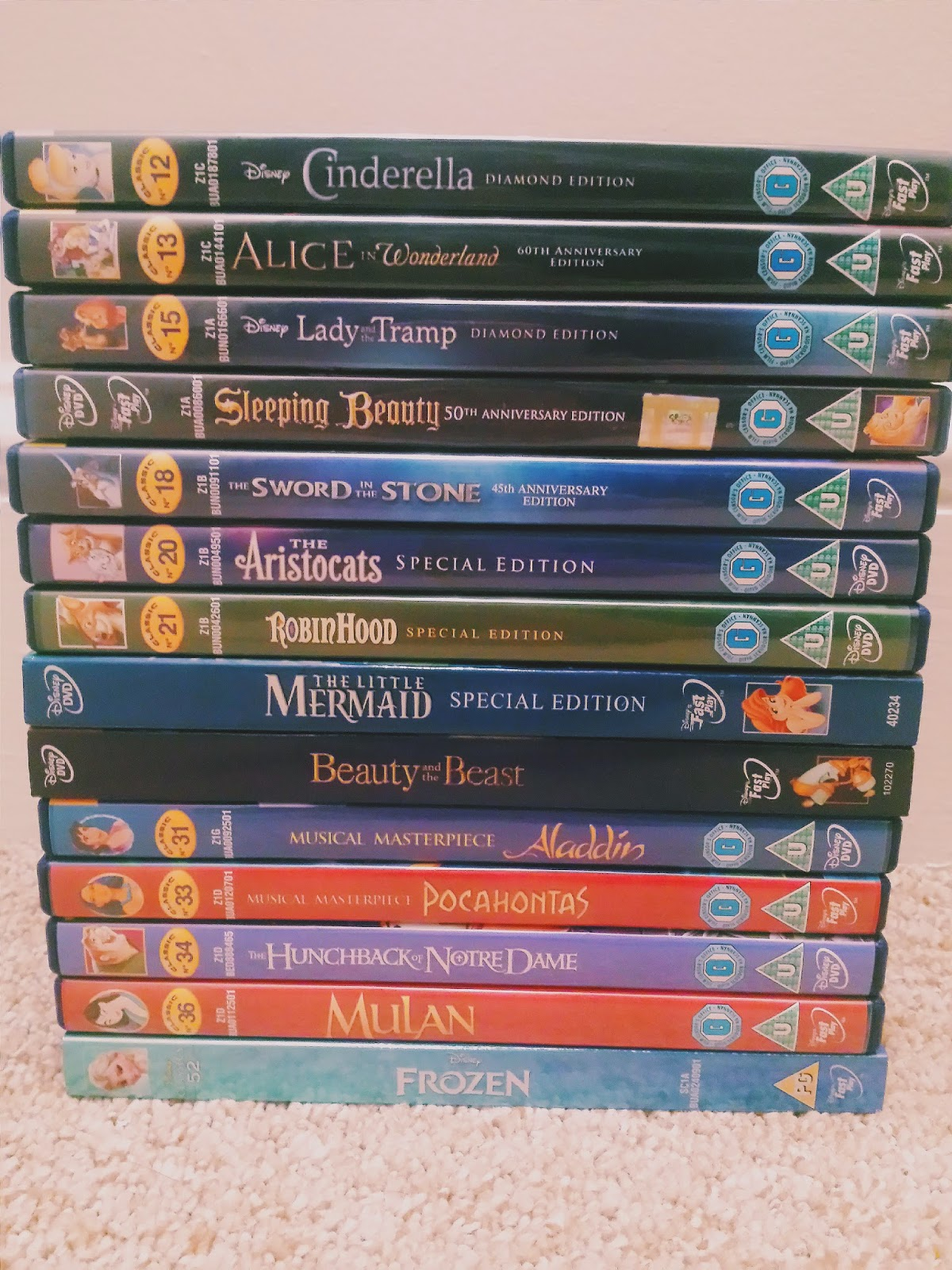 Walt Disney Animated Classics