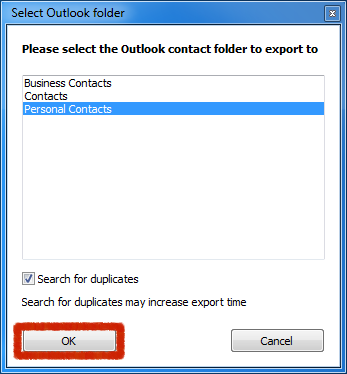 transfer iphone contacts to outlook