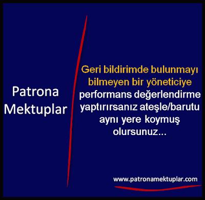 GERİ BİLDİRİM