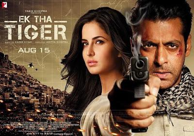 Ek Tha Tiger Poster - Salman Khan & Katrina Kaif