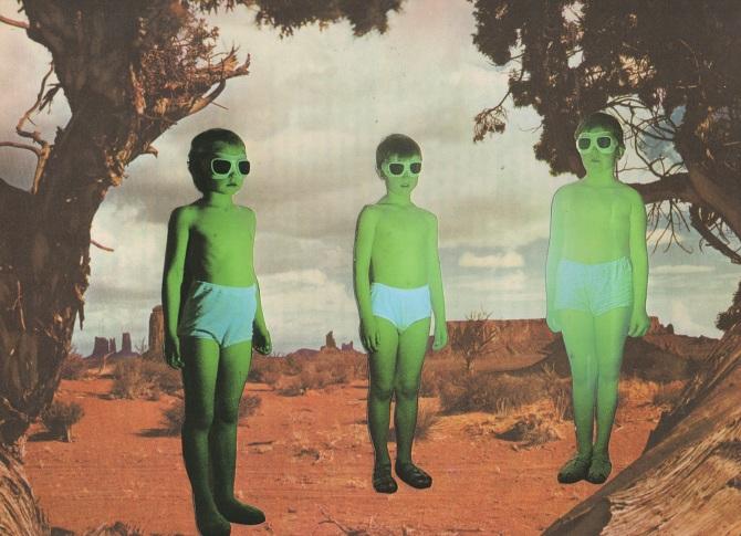 nuncalosabre.Collages - Nicholas Ballesteros