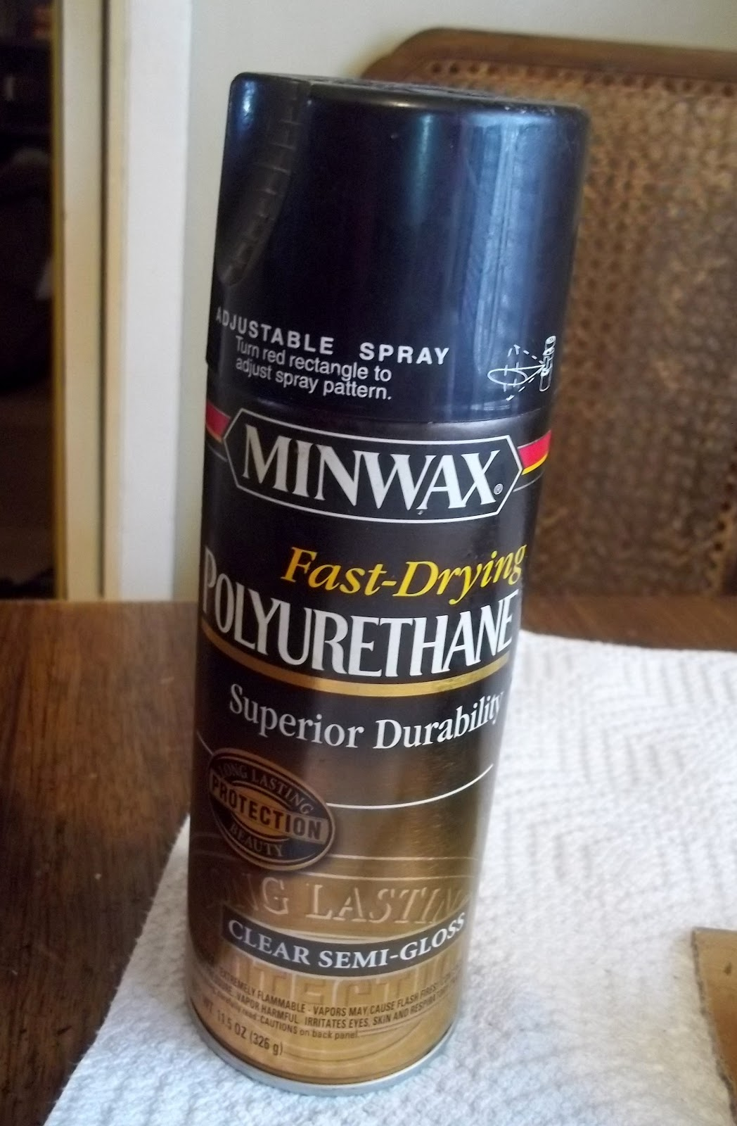 Minwax super fast drying polyurethane - Use Minwax Fast Drying Polyurethane Clear Semi Gloss