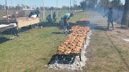 Pollos a la Parrilla en el estadio de Sportivo