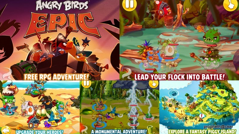 angry bird epic android app