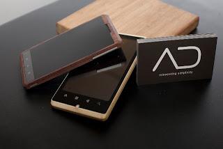 Konsep Ponsel Android Dari Bambu