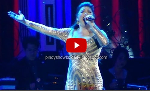 Regine Velasquez sings Demi Lovato's Let It Go