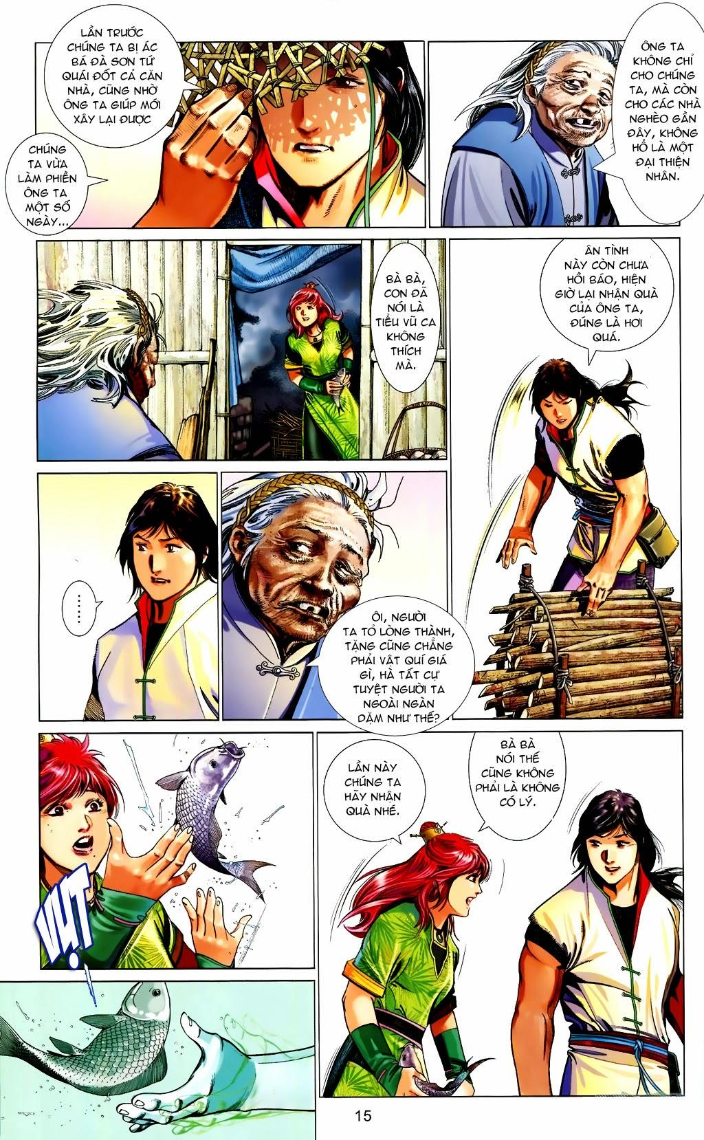 Phong Vân Chap 663 - Trang 15