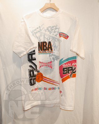 Nba player pictures frank hassell san antonio spurs for Shirt printing san antonio