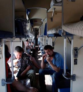 Vagón de 3ª clase (Plazchkart), transiberiano 2015
