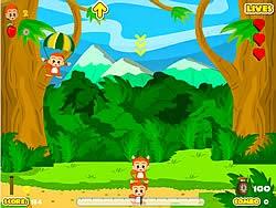 Khỉ trồng cây, game vui