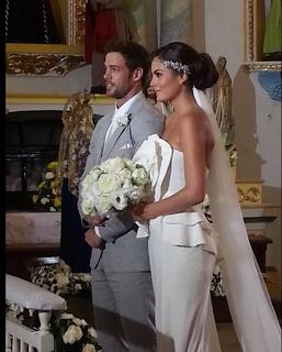 Marina y Damián se casan en La Tempestad.