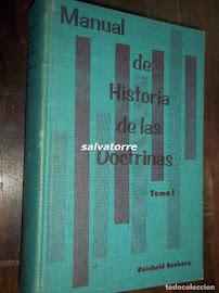 MANUAL DE HISTORIA DE LAS DOCTRINAS CRISTIANAS - REINHOLD SEEBERG TOMO 01 (COMPLETO)
