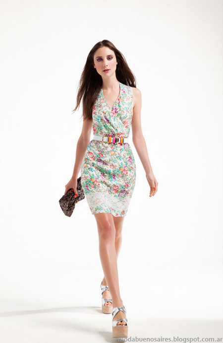 Vestidos 2013 Moda verano 2013 Carmela Achaval