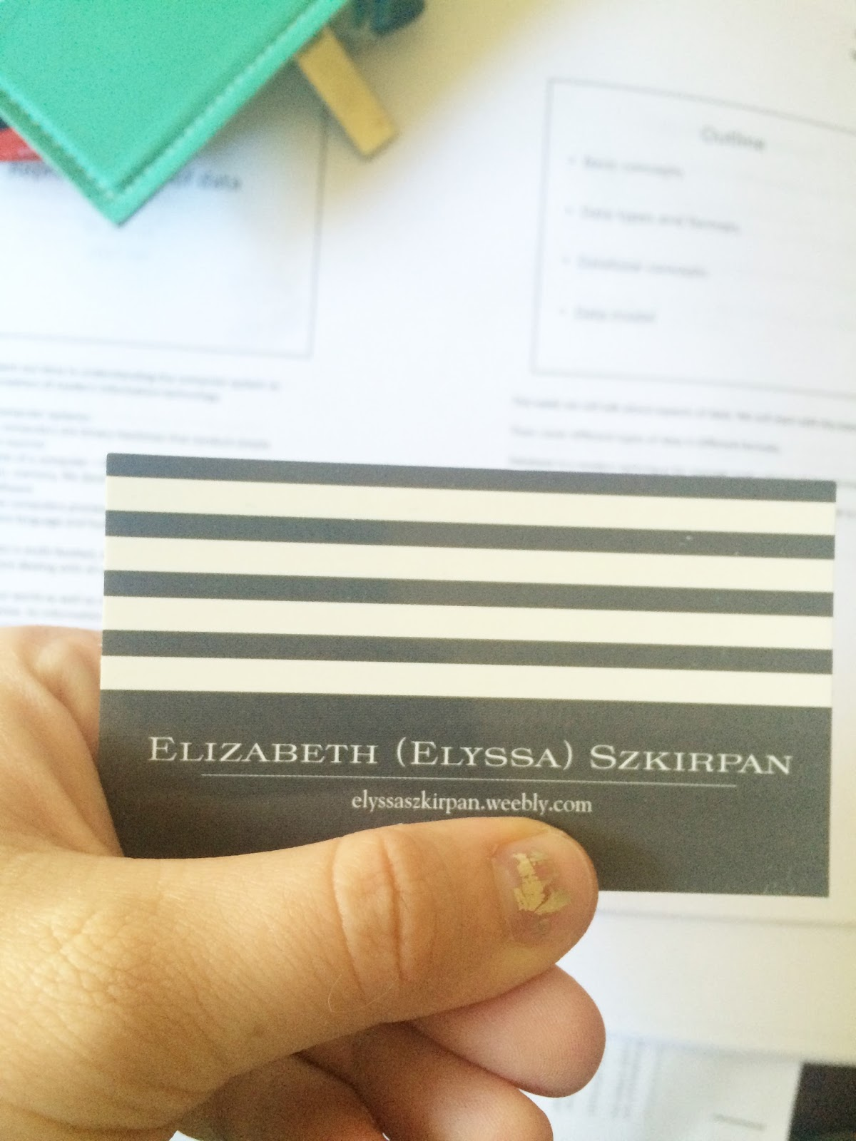the littlest archivist work it wednesdays business cards
