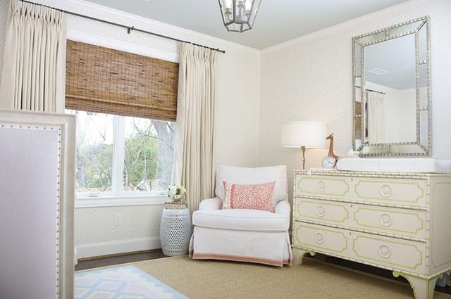 Cream Walls Living Room