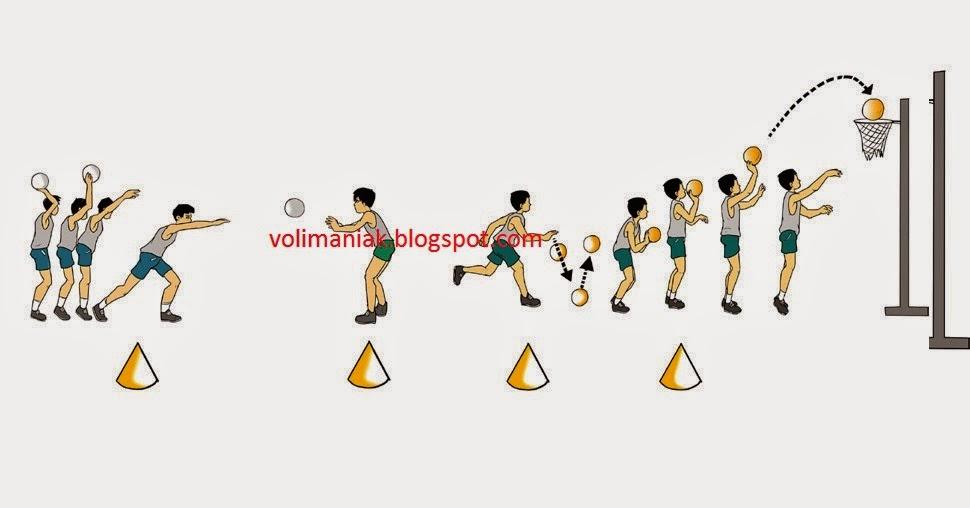 variasi permainan bola basket