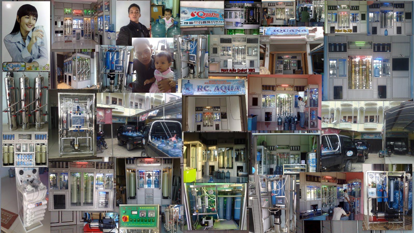 depot air minum isi ulang + RO