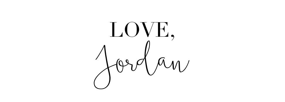 Love, Jordan