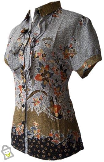 Baju Kemeja Batik Baju Kemeja Batik Wanita Terbaru