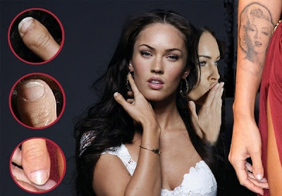 Megan Fox ekelige Finger