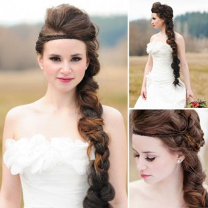 Model Rambut Pengantin Wanita 2013