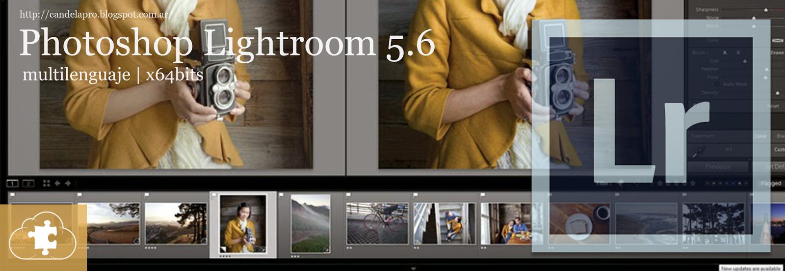 Adobe Lightroom 5.6 | x64 bits | multilenguaje