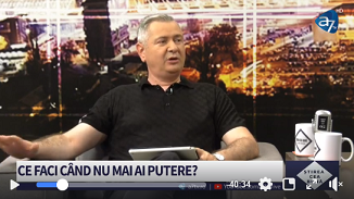 A7 TV: Ce faci când nu mai ai putere? 🔴 Invitat: Florin Ianovici