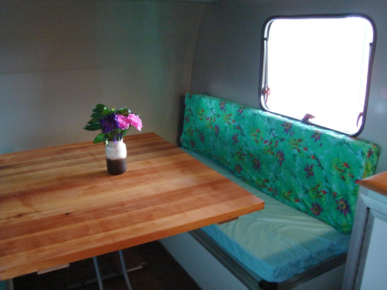 Custom Table And Natural Latex Cushions