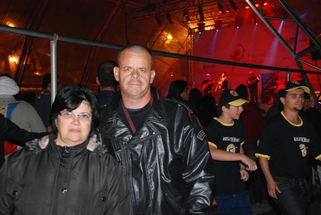 Zaíra Zimbrão e Ivan Mendes Moraes: evento de qualidade e bons shows