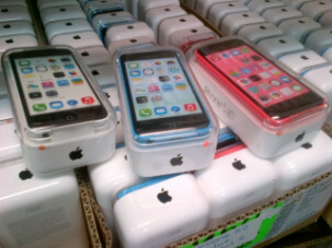 trading floor, MidwestGSM, Apple wholesaler, Miami, Florida, iPhone 5C