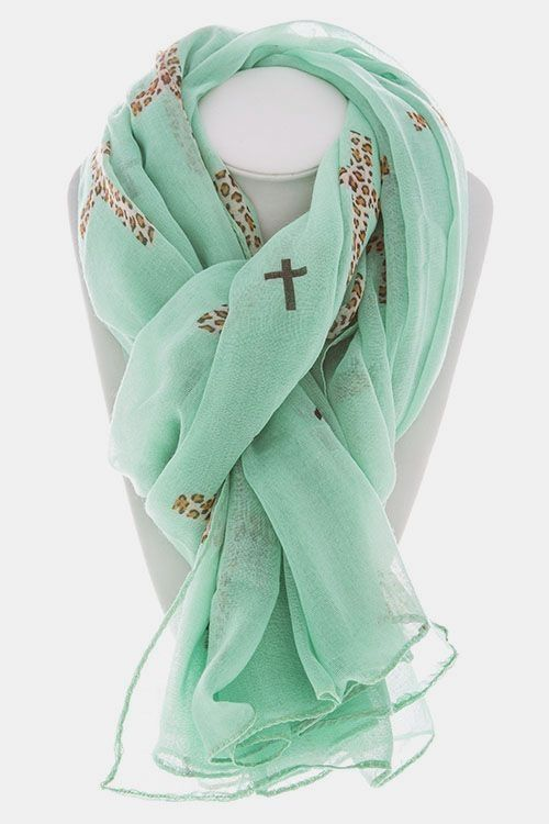 Stylish and Attractive Mint Scarf