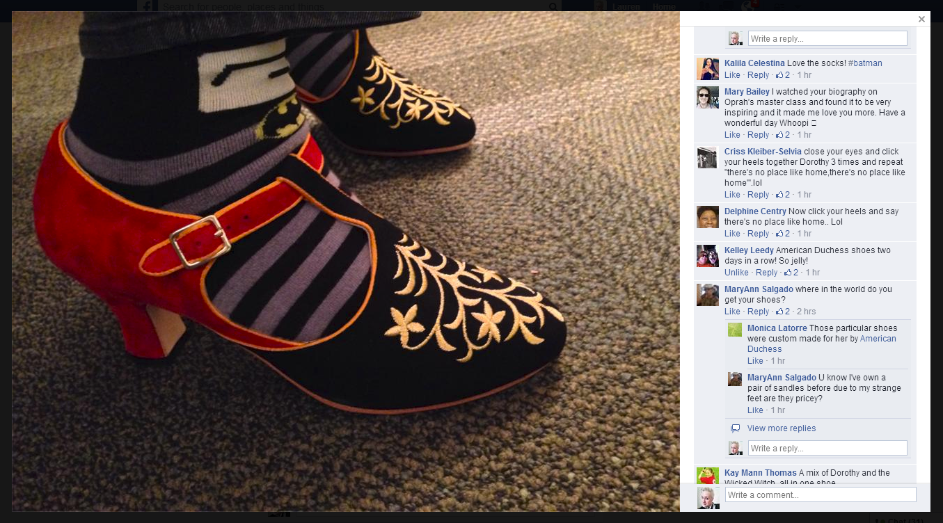 Who Designs Whoopi Goldberg S Shoes