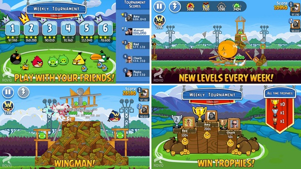 Download Angry Birds Friends for Android, iPhone and iPad