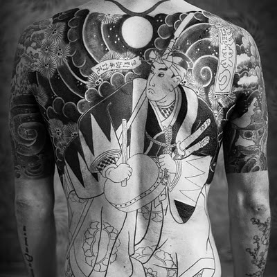 This is my on going Chushingura 47 Ronin Irezumi back piece