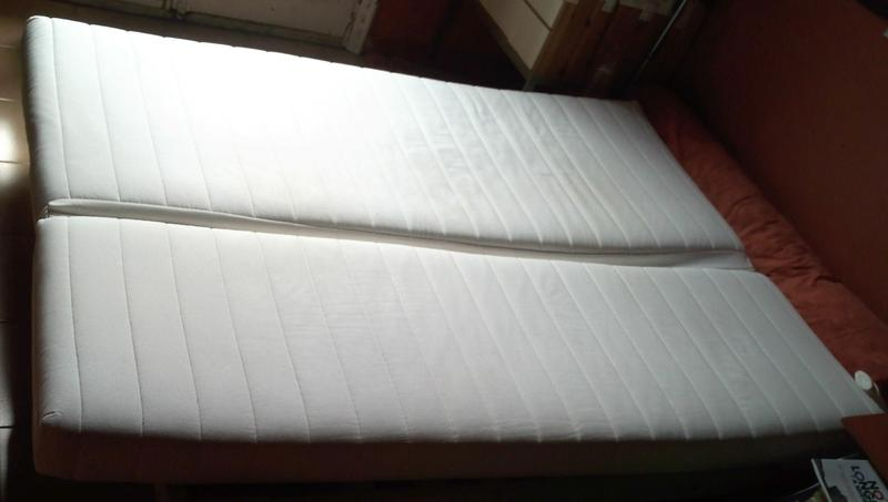 130 colch n y funda para sofa cama ikea beddinge l g for Colchon sofa cama libro