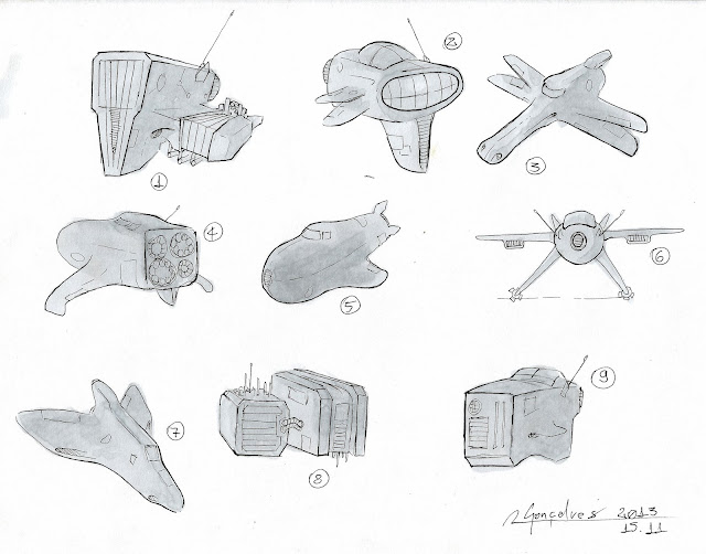 Spaceships Design