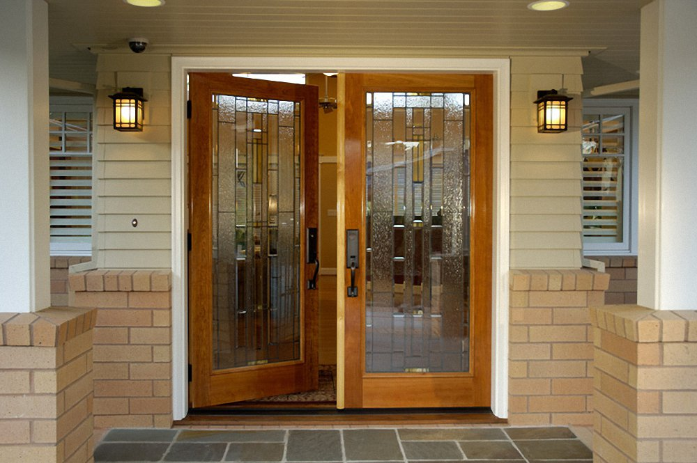 New home designs latest homes modern entrance doors for Entrance door with window