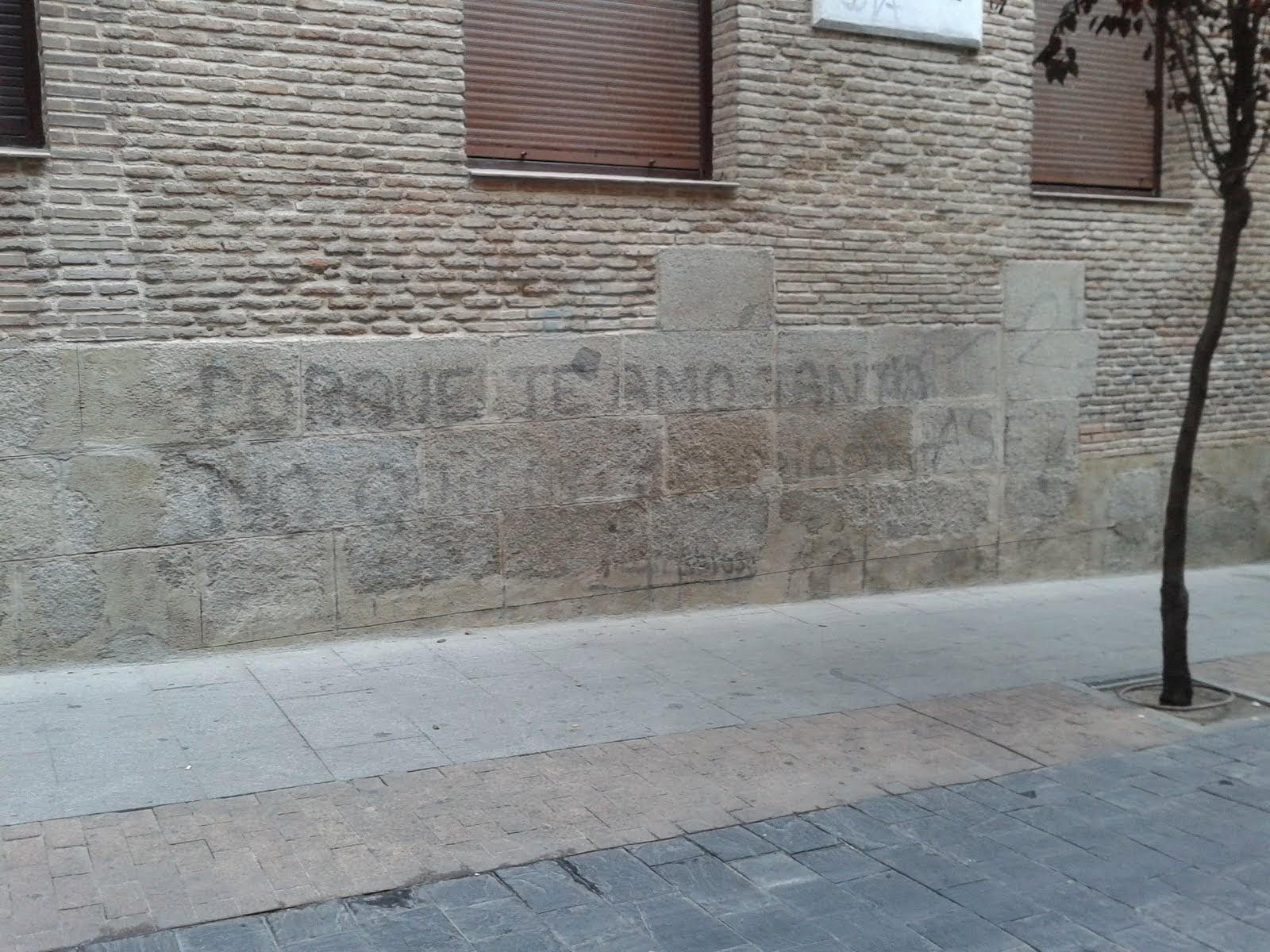 Batania Neorrabioso (Madrid) a medio borrar