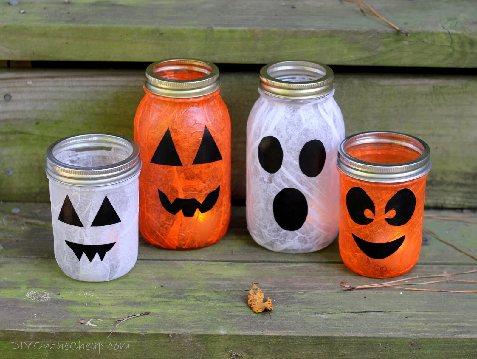 step 5 - How To Make Halloween Lanterns