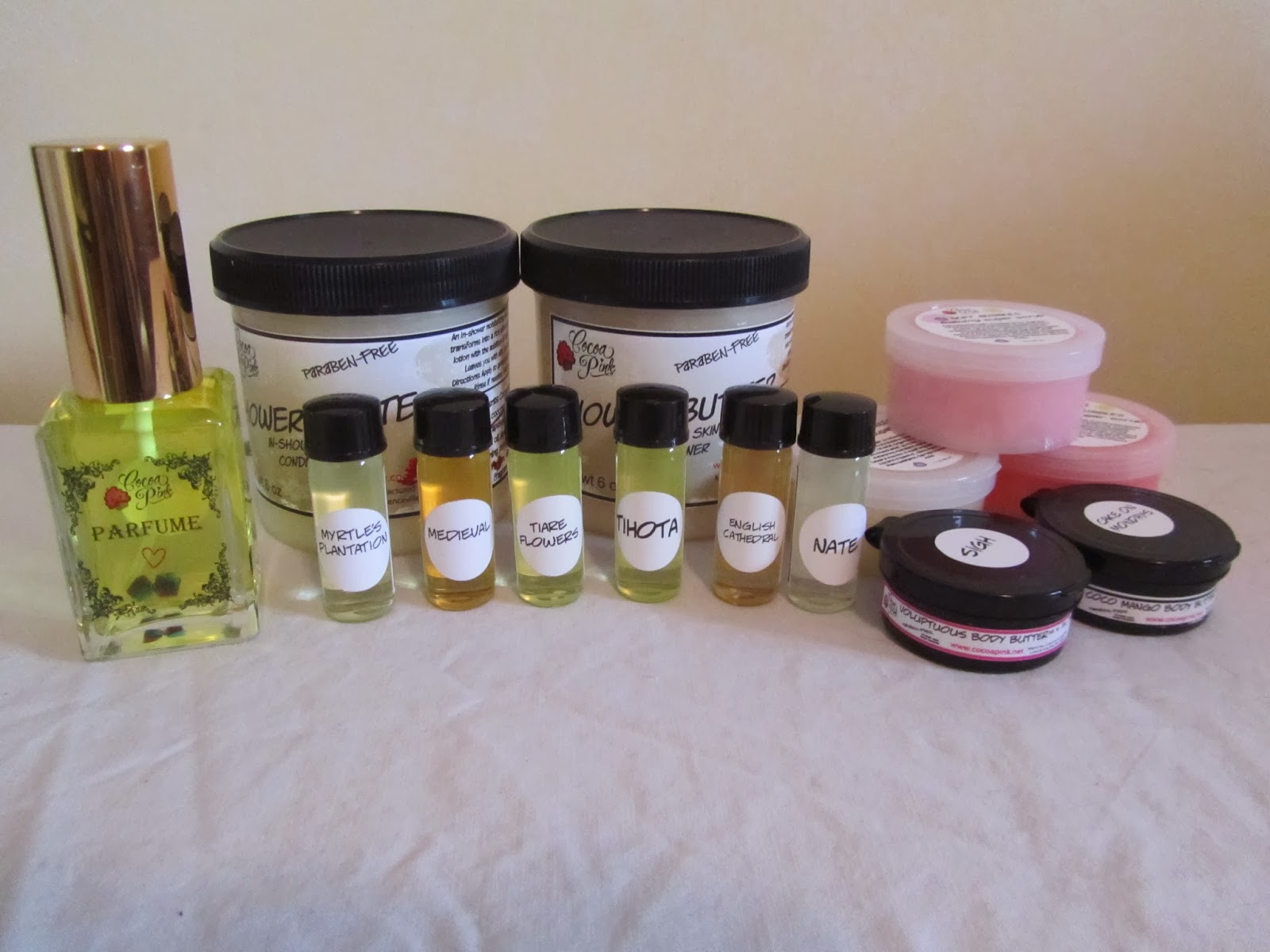 peacecat this 'n' that cocoa pink review - they offer several types of products from perfumes to lotions and scrubs tohair care i've ordered from them several times shipping takes a fewweeks